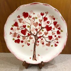 Pier One Valentines Day Plate